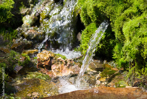 source of spring water - 68762357