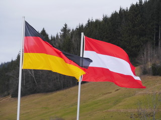 flag germany austria outdoors