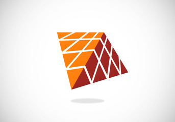 geometry abstract construction vector logo
