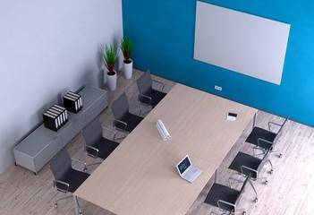 Büro-Besprechung