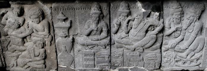 Ramayana Story on Prambanan Temple