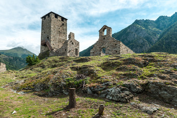 Castle of Graines, Aosta Valley (Italy)