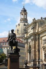 Dresden urban scenics. Saxony, Germany