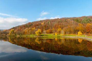 Silzer See im Herbst