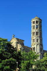 Fenestrelle Tower,  In Uzes, south of France