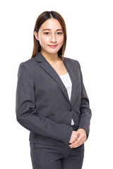 Mixed race businesswoman, Indonesian and Chinese