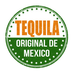Tequila stamp