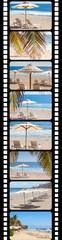 pellicule film vacances plage Réunion
