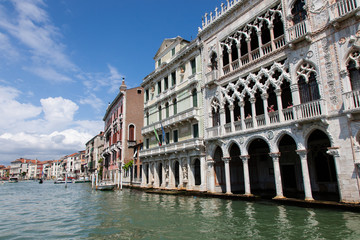 Venise : Grand Canal, Ca d'Oro