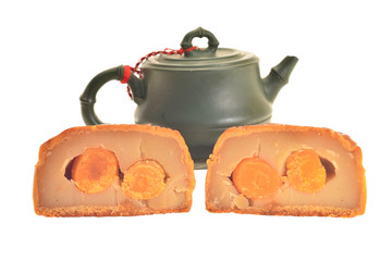 Moon Cakes And Chinese Teapot