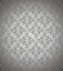 Dark silver vector background