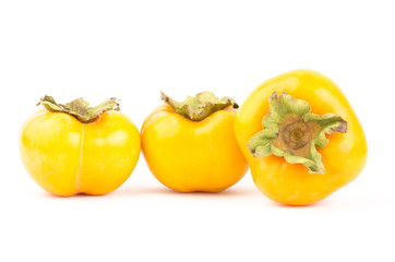 Fresh persimmon fruit