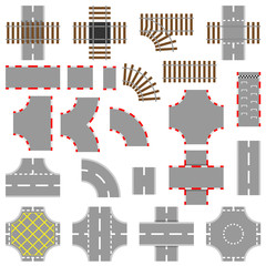 Road And Rail Elements