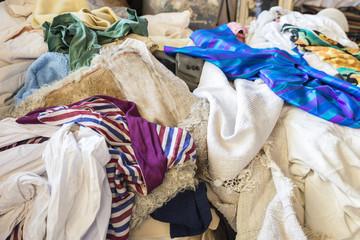 a heap of clothes