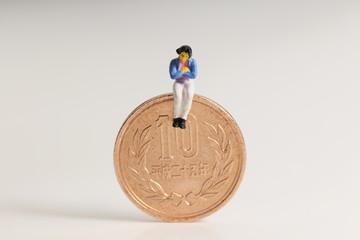 10円と主婦