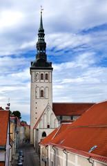 St. Nicholas' Church (Niguliste). Old city, Tallinn, Estonia