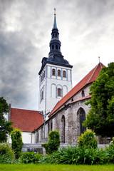 St. Nicholas' Church (Niguliste) .Old city,Tallinn, Estonia