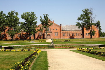 Duke Oginski Palace-stables