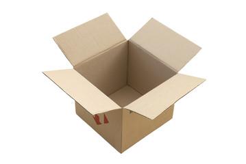 Beige open box