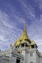Wat Trimit, Bangkok, Thailand. Famous for its gigantic