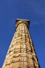 weathered stone light tower