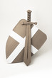 Medieval sword and shield - 68772500