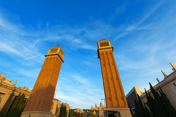 Venetian Towers - Barcelona Spain