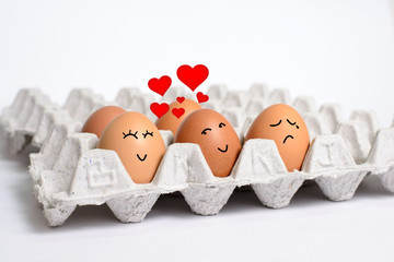 Story of love s eggs