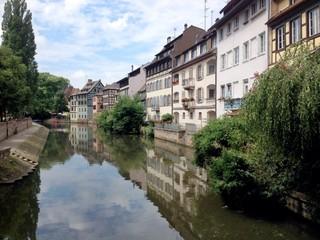 Panorama lungofiume di Strasburgo