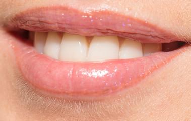 smiling girl. close-up