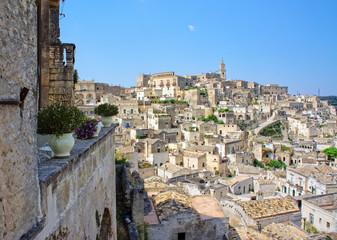 The Sassi of the Rupestrian city of Matera, Basilicata, Italy