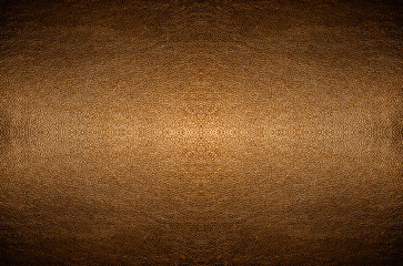 Closeup abstract orange copper PVC leather texture background.