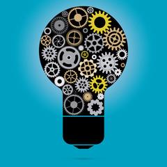 Creative idea vector illustration