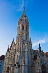 Mátyás Templom - Matthias church in Budapest, Hungary