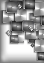 Abstract buttons background