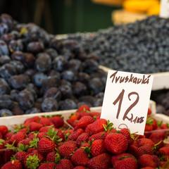 Strawberry at Poland Farmer market