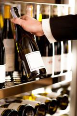 Choosing the best wine.