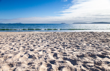 Beach from Sand