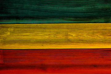 Colorful wooden plank texture