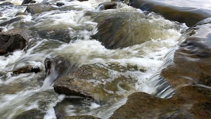 Water flow in the river