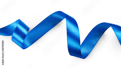 Papiers peints Tissu Blue ribbon
