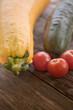 Zucchini Tomaten Gurke