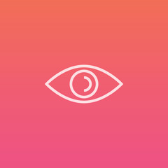 Eye  - Finely crafted line icons