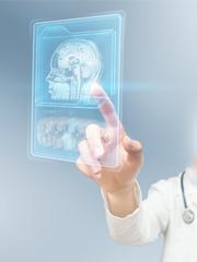 Futuristic MRI scan