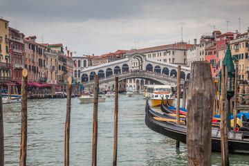 Venise : Grand Canal, Rialto