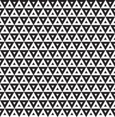 Seamless Art Deco Triangle Pattern Background