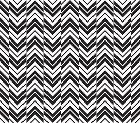 Seamless Art Deco Chevron Background Pattern