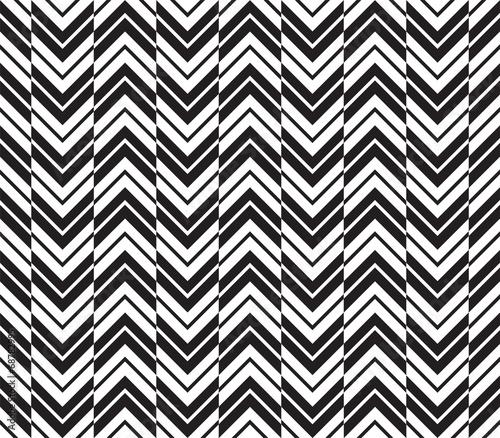 Seamless Art Deco Chevron Background Pattern