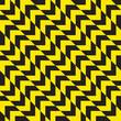 Seamless diagonal warning chevron stripes texture