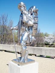 Washington Sculpture in Mall 2010
